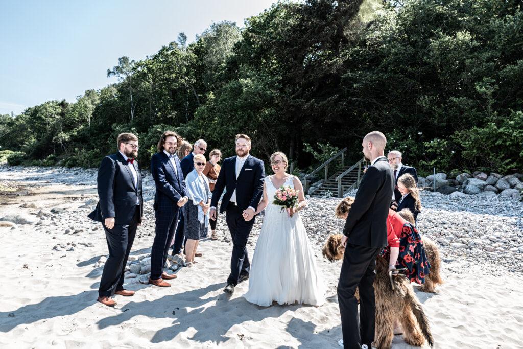 Wedding on the beach - photography Susanne Buhl-9408