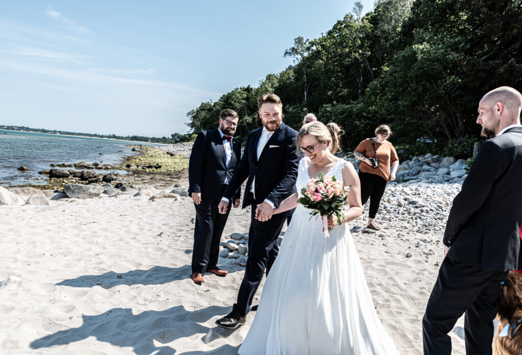 Wedding on the beach - photography Susanne Buhl-9410