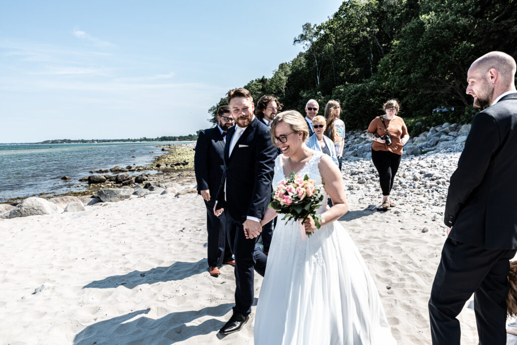 Wedding on the beach - photography Susanne Buhl-9411