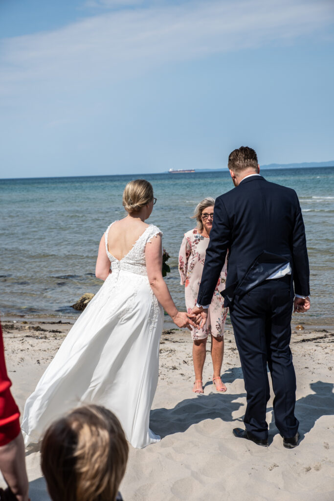 Wedding on the beach - photography Susanne Buhl-9412