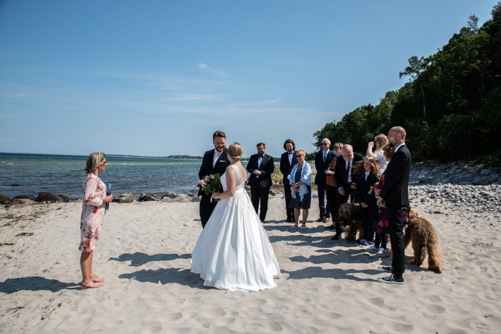 Wedding on the beach - photography Susanne Buhl-9416