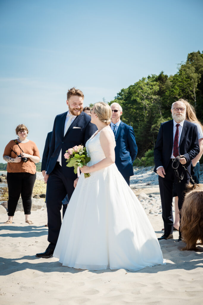 Wedding on the beach - photography Susanne Buhl-9439