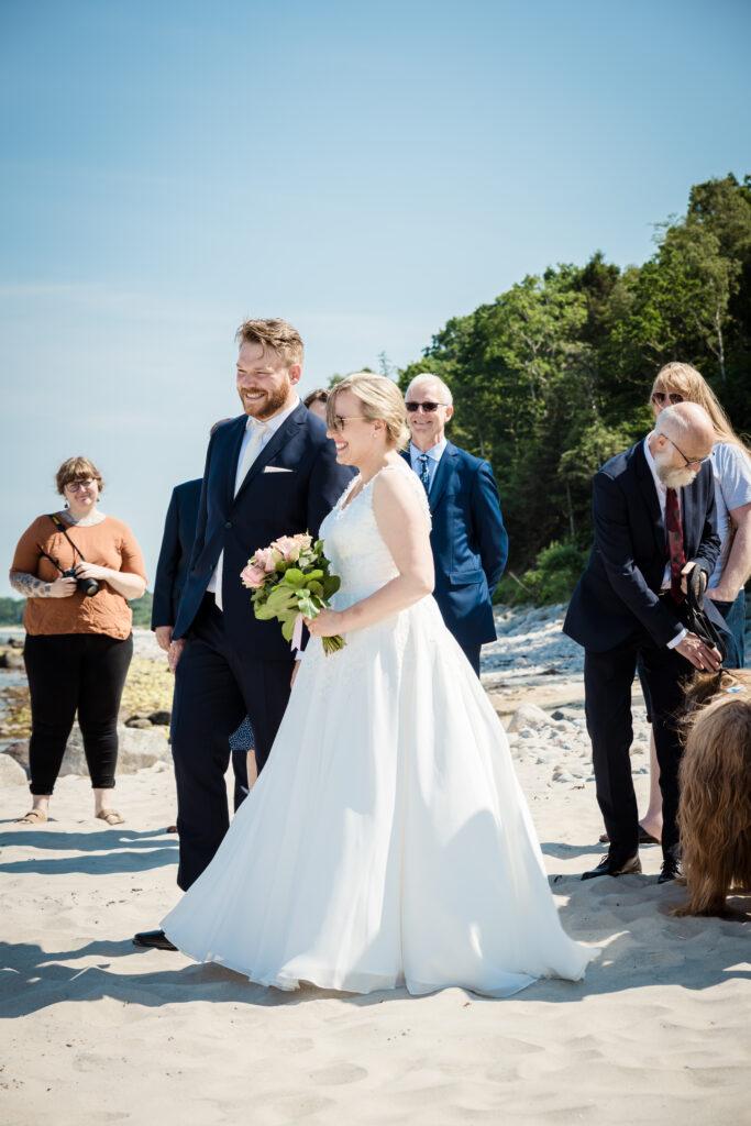 Wedding on the beach - photography Susanne Buhl-9442